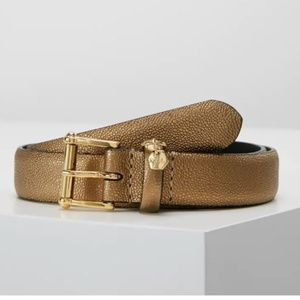 Ralph Lauren Stingray Pant Belt (Deep Bronze. S)